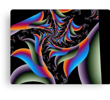 Freaky Fronds Canvas Print