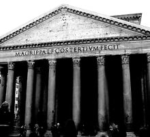 The Pantheon by hrmphotography