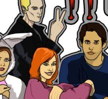 The Buffy Club Sticker
