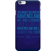 Ravenclaw House iPhone Case/Skin