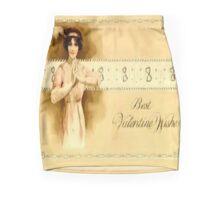 Vintage Valentine Wishes Mini Skirt