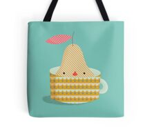 pear in a cup Tote Bag