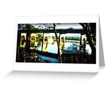 Jubilee Reflection - Innisfail Nth Qld Greeting Card