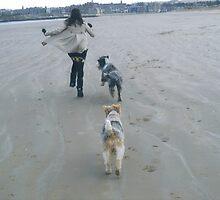 A run on the beach by Carla Maloco