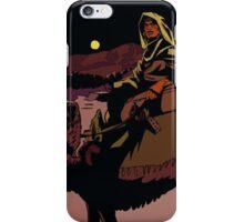 Muhammad in the desert iPhone Case/Skin