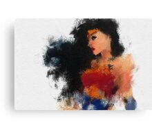 Woman from Amazon Canvas Print