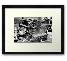 Clamp it!!! Framed Print