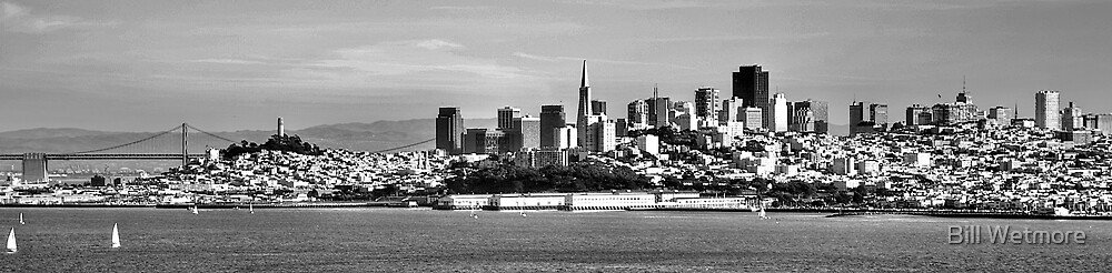 San Francisco Skyline by Bill Wetmore