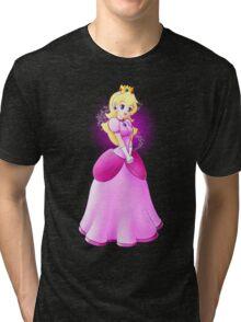 Princess Peach - lovely in pink Tri-blend T-Shirt