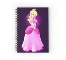 Princess Peach - lovely in pink Spiral Notebook