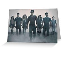 Teen Wolf Season 5 Greeting Card