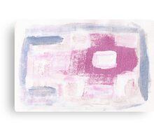 Paintbrush Practicing makes Pretty Pattern Canvas Print