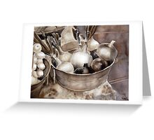 Farmer's Market Onions Greeting Card
