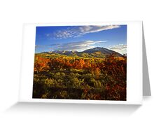 West Beckwith Mountain #2 Greeting Card