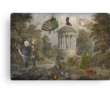Theatre Of The Absurd #4 Canvas Print