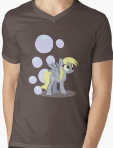 Derpy Hooves with cutie mark Mens V-Neck T-Shirt