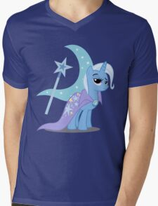 Trixie with cutie mark Mens V-Neck T-Shirt