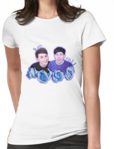Dan and Phil Womens Fitted T-Shirt