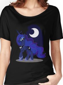 Princess Luna with cutie mark Women's Relaxed Fit T-Shirt