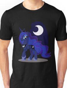 Princess Luna with cutie mark Unisex T-Shirt