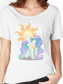 Princess Celestia with cutie mark Women's Relaxed Fit T-Shirt