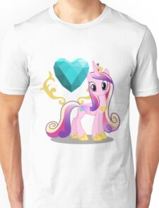 Princess Cadence with cutie mark Unisex T-Shirt