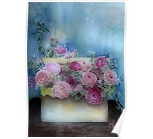Flowers In A Box Poster