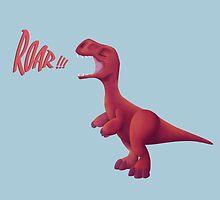 Baby T-rex by Hannah Buchanan
