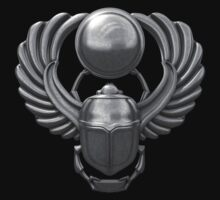 Silver Egyptian Scarab by Packrat
