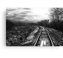 The Train Line Canvas Print