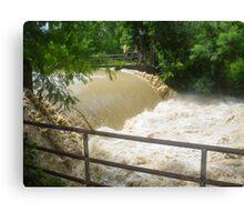 Floodwater (Enhanced) Canvas Print