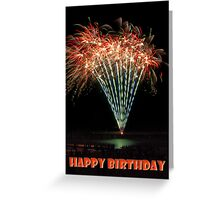 Sparklers - Happy Birthday Greeting Card