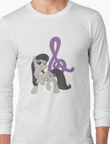Octavia with cutie mark Long Sleeve T-Shirt