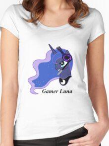 Gamer Luna Women's Fitted Scoop T-Shirt