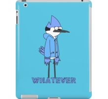 Regular show- Mordecai whatever iPad Case/Skin