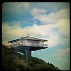 the beach house in the sky by Sonia de Macedo-Stewart