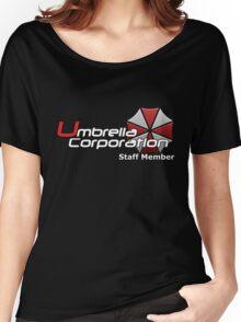 Umbrella Corp. Staff Member Women's Relaxed Fit T-Shirt