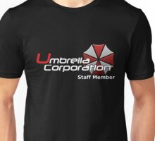 Umbrella Corp. Staff Member Unisex T-Shirt