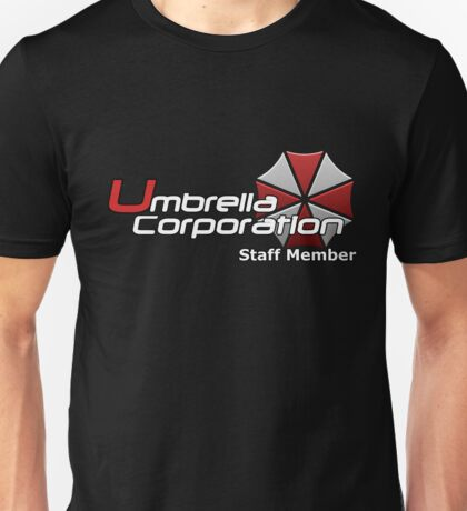 Umbrella Corp. Staff Member Unisex T-Shirt