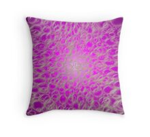 Lavender Bubbles  Throw Pillow