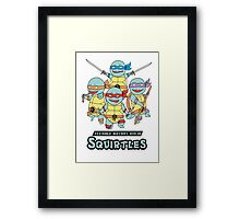 Teenage Mutant Ninja Squirtles Framed Print