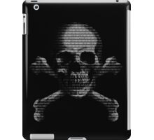 Hacker Skull iPad Case/Skin