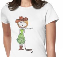 Country at Heart Womens Fitted T-Shirt