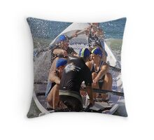 ASRL Navy Torquay 03 Throw Pillow