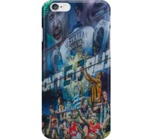 Don't Go Quietly - AFL Display at Federation Square, Melbourne iPhone Case/Skin