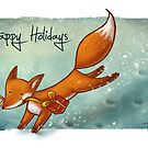Holiday Fox by Ine Spee