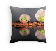 Eleboro flower II Throw Pillow