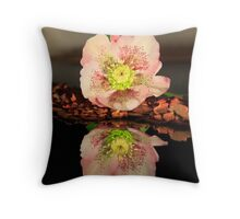 Eleboro flower I Throw Pillow