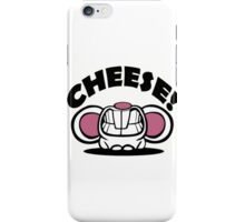 """Funny """"Say Cheese"""" mouse iPhone Case/Skin"""
