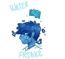 Asthetic Princes: Water Prince  by Puffsellsart